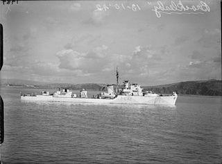 HMS <i>Brocklesby</i> (L42)