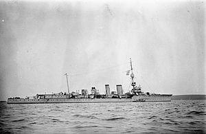 HMS Calliope (1914) - Image: HMS Calliope