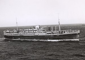 HMT Dunera in 1940