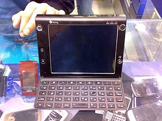 HTC Advantage X7500 - An HTC Athena on display