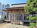 Haiden of Kawaguchi-jinja shrine at Watari town.JPG