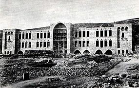 Haifa, Construction of the Technion ,1913.jpg