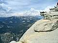 Half Dome, looking down into Tenaya Canyon. - panoramio.jpg