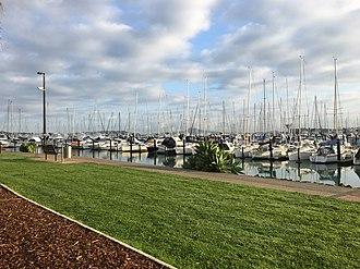 Half Moon Bay, Auckland - Marina at Half Moon Bay, September 2018