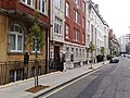 Hallam Street, Marylebone, London W1 from Weymouth Street - panoramio.jpg