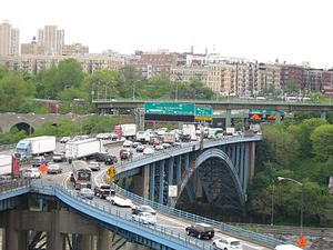 Alexander Hamilton Bridge - Looking west