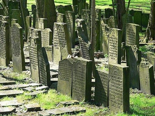Jüdischer Friedhof in Hamburg Altona. Aschkenasischer Teil.