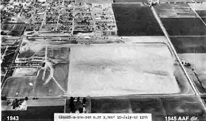 Hancock Field (California) - 1943 USAAF photo
