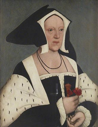 Margaret Wotton, Marchioness of Dorset - Portrait of Margaret Wotton, Marchioness of Dorset, after Hans Holbein the Younger