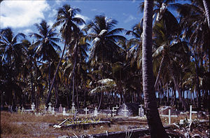Hao (French Polynesia) - Hao cemetery