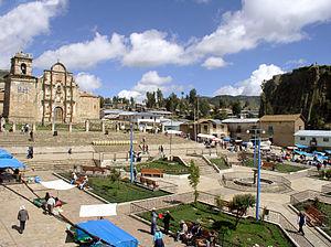 Haquira District - Main square in Haquira