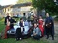 Hardkon X - na potrzeby gry Powrót do przyszłości udało się sprowadzić na konwent oryginalny samochód Delorean, znany z serii filmów o tym samym tytule.jpg