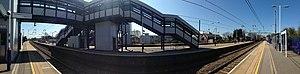 Harpenden railway station - Image: Harpenden Train Station Panorama