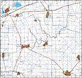 Harta fizică a comunei Bordei Verde, Brăila.jpg