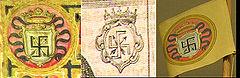 支倉常長の西洋式紋章