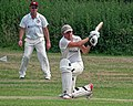 Hatfield Heath CC v. Takeley CC on Hatfield Heath village green, Essex, England 35.jpg