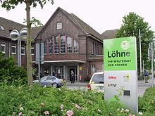 Bahnhof Löhne löhne station