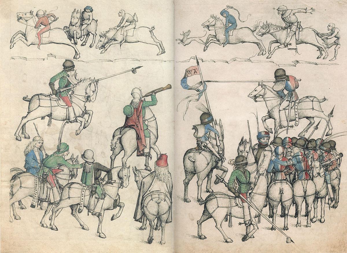 torneio medieval � wikip233dia a enciclop233dia livre