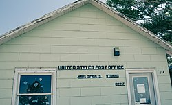 Hawk Springs Post Office, July 2016