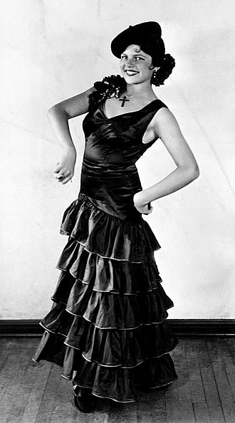 Rita Hayworth - At age 12, Margarita Cansino was dancing professionally as her father's partner in the Dancing Cansinos (1931).