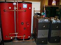 Hot water storage tank  sc 1 st  Wikipedia & Hot water storage tank - Wikipedia