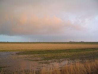 Dithmarschen - Marshland in northern Dithmarschen