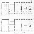 Heike Kamerlingh Onnes - 20 - Floor plan of the physics wing of the laboratory on the Steenschuur, Leiden, 1882.png