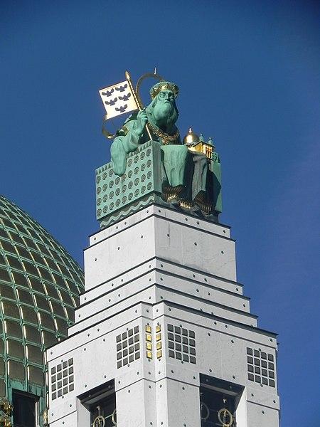 File:Heiliger Leopold, Otto-Wagner-Church, Vienna.JPG