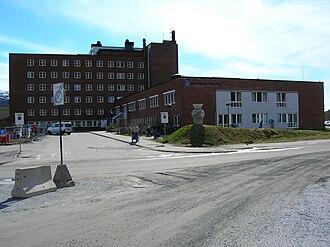 Helgeland Hospital Trust - Image: Helgeland hospital Rana 04