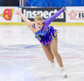 Joshi Helgesson Swedish figure skater