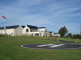 Helipad - A helipad in the UK