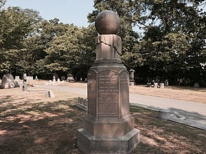 Henrietta Swan Leavitt - Leavitt family monument in Cambridge Cemetery