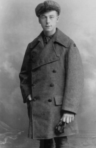 Henry Allingham - Allingham in RNAS uniform in 1916