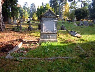 Henry Berkeley Fitzhardinge Maxse - Maxse's grave in Brookwood Cemetery