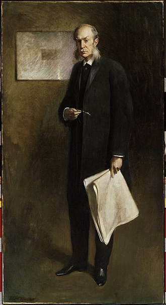 Henry Gurdon Marquand - John White Alexander, Henry G. Marquand, 1896, in the Princeton University Art Museum