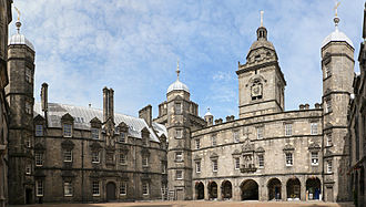 George Heriot's School - The Quadrangle.