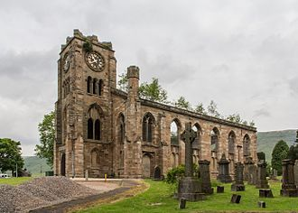 Lennoxtown - Lennoxtown church, built in the 1820s