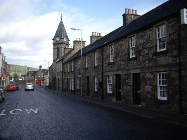 High Street, Rothes - geograph.org.uk - 1528207