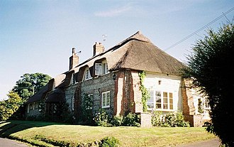 Ansty, Dorset - Image: Higher Ansty, thatched cottage geograph.org.uk 500362