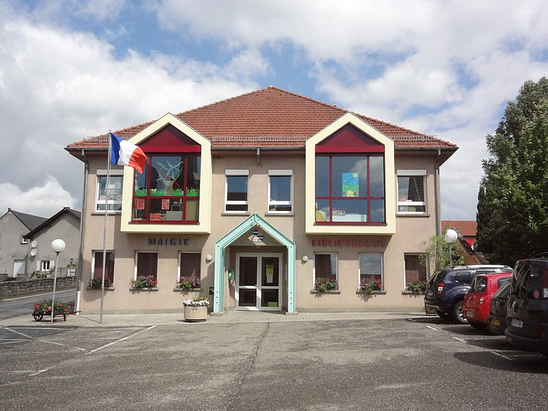 Hilbesheim (Moselle) mairie - bibliothèque