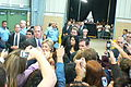 Hillary Clinton with press.jpg