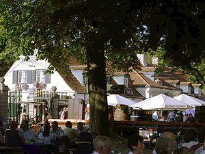Hirschgarten - The Hirschgarten in a 2006 photograph.