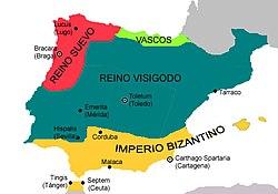 Hispania en el siglo VI [cita requerida]