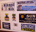 Historic advertising in the Beamish Museum 01.JPG