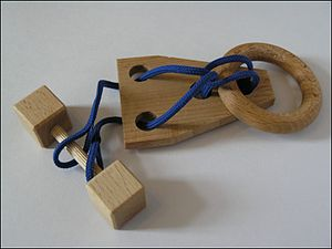 Disentanglement puzzle - A disentanglement puzzle