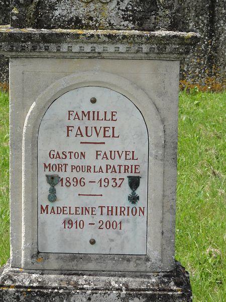 Hoéville (M-et-M) tombe soldat mort pour la Patrie 1937