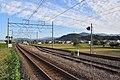 Hokuriku Main Line in Nagahama, Shiga pref 2019-09-19.jpg