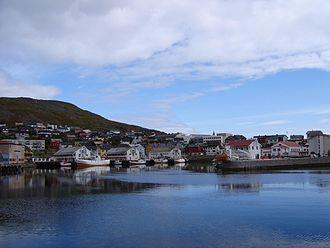 Nordkapp - Honningsvåg harbour