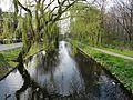 Hoofdlaanbrug - Schiebroek - Rotterdam - View from the bridge towards the west.jpg