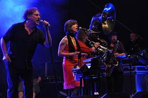 Hazmat Modine - Hazmat Modine performing in Koblenz, 2014